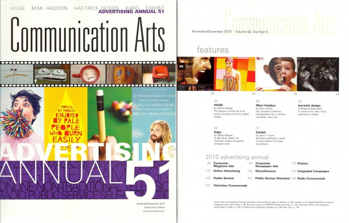levy creative management, kako, communincation arts interview, advertising annual 51, brazilian illustrator
