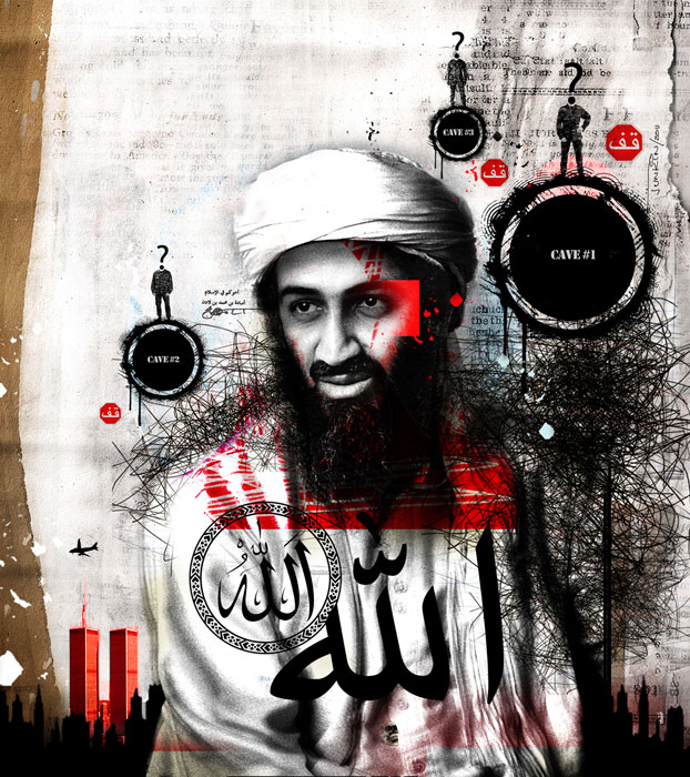 levy creative management, david junkin, osama bin laden, the washington post, terrorism, 9/11, sept. 11, al-Qaeda