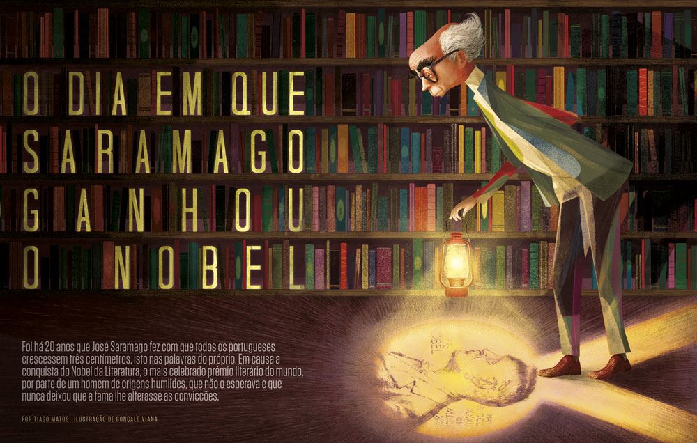 Goncalo-Viana_Estante_Saramago_Nobel