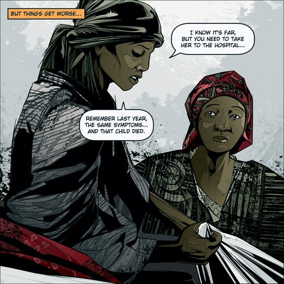 levy creative management, kako, malaria: blood, sweat and tears for the united nations, kako graphic novel