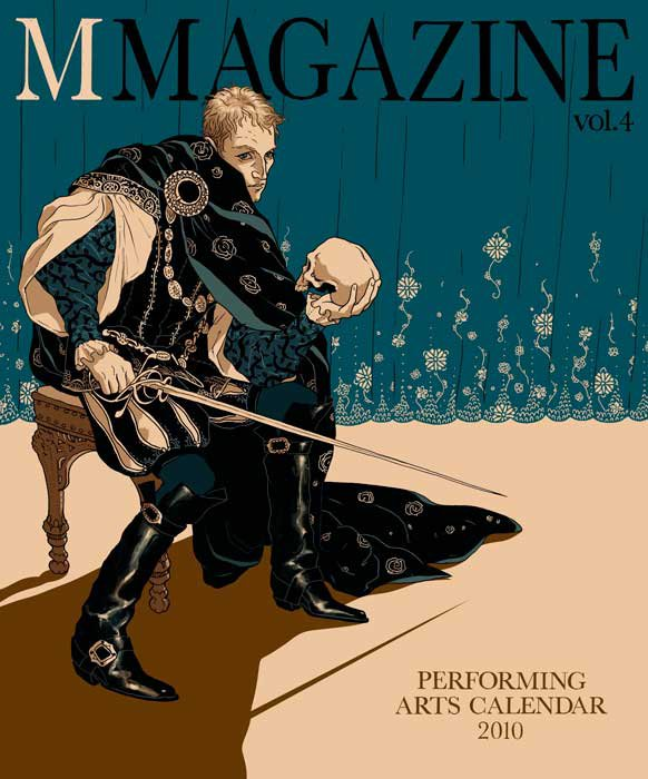 levy creative management, rory kurtz illustration for M Magazine