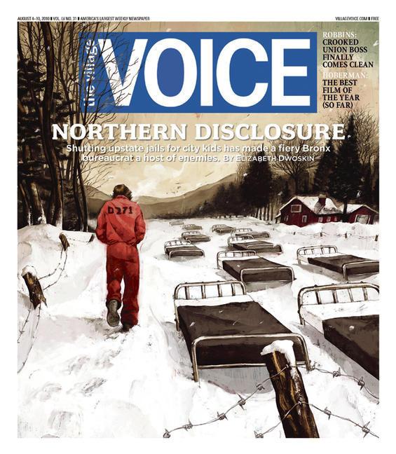 levy creative management, rory kurtz illustration for the village voice