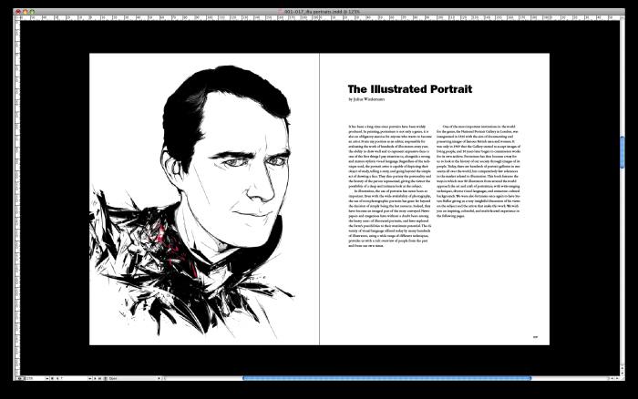 levy creative management, kako, julius wiedemann, illustration now portraits, taschen, portraits